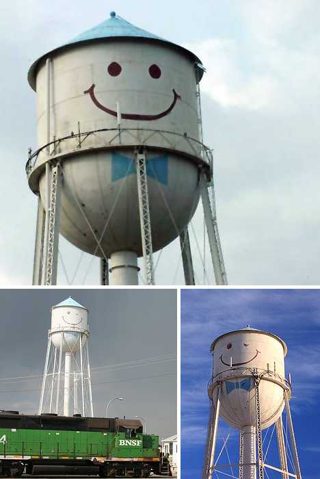 happy water tower